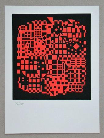 Siebdruck Vasarely - Sikkaso