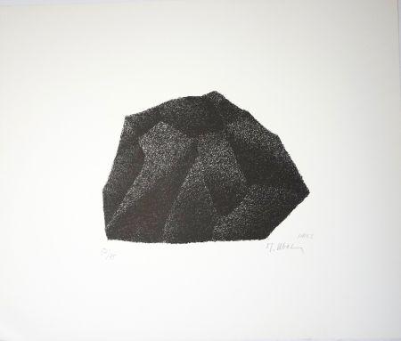 Lithographie Ubac - Silex I