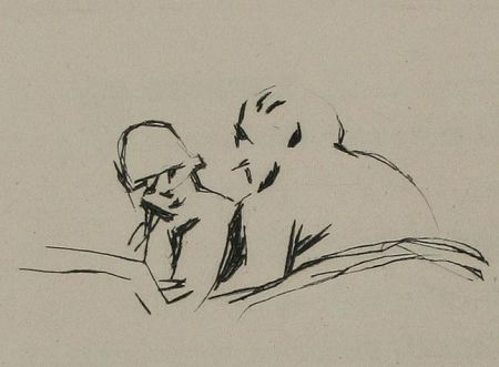 Illustriertes Buch Bonnard - Simili