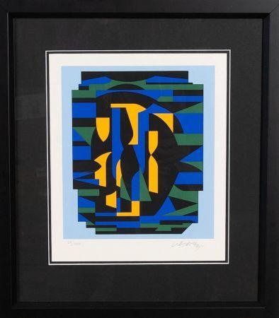 Siebdruck Vasarely - Sin titulo