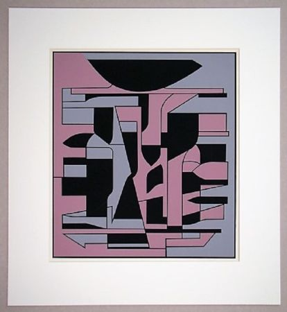 Siebdruck Vasarely - Siris Ii