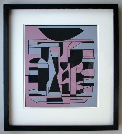 Siebdruck Vasarely - Siris Ii