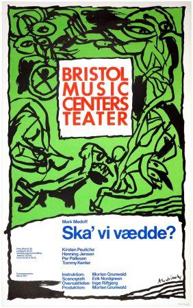 Plakat Alechinsky - Ska'vi vædde ?, Mark Medoff, 1977