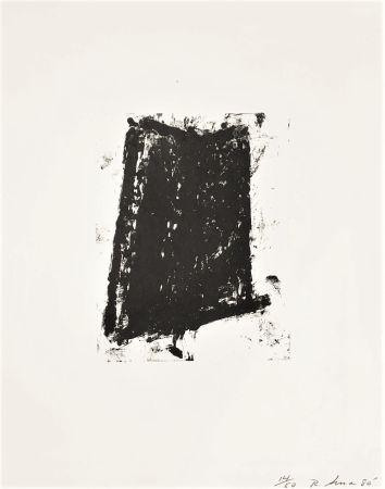 Lithographie Serra - Sketch 5