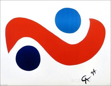 Lithographie Calder - Skybird