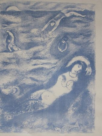 Lithographie Chagall - So i came forth....