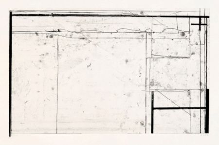 Stich Diebenkorn - Softground Cross, from Four Softgrounds,
