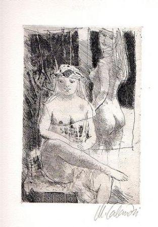 Illustriertes Buch Calandri - Sonetti