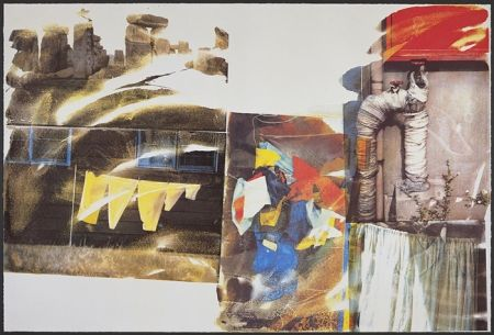 Siebdruck Rauschenberg - Source, from Speculations