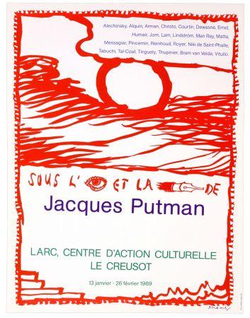 Plakat Alechinsky - Sous l'oeil et la plume de Jacques Putman