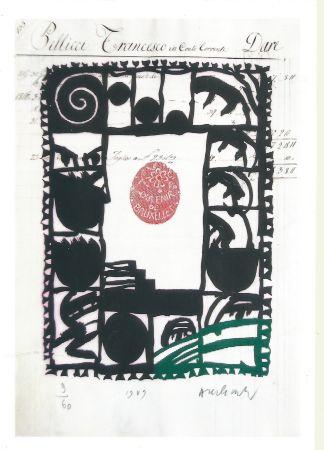 Stich Alechinsky - Souvenir de Bruxelles