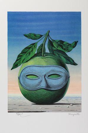 Lithographie Magritte - Souvenir de Voyage