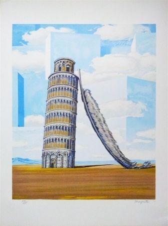 Lithographie Magritte - Souvenir de voyage (Memory of a journey)