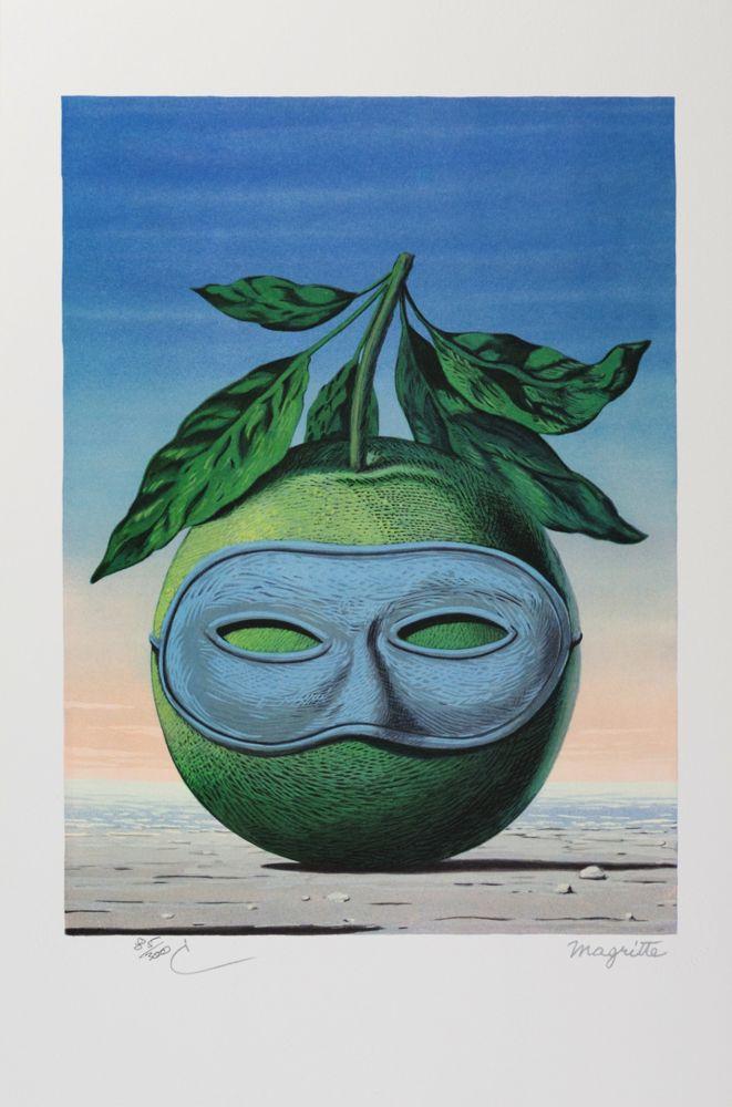 Lithographie Magritte - Souvenir de Voyage (Memory of a Voyage)