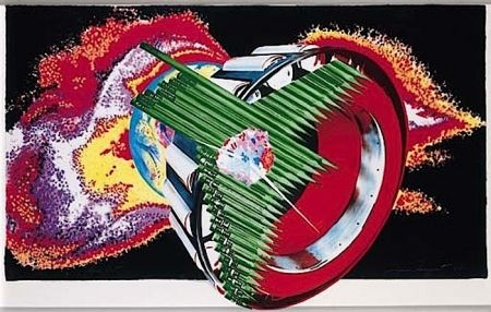 Lithographie Rosenquist - Space Dust (from Welcome to the Water Planet)