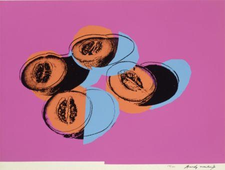 Siebdruck Warhol - Space Fruit: Cantaloupes II (FS II.198)