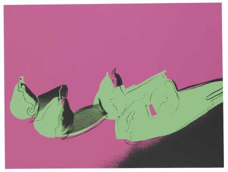 Siebdruck Warhol - Space Fruit: Pears (FS II.203)