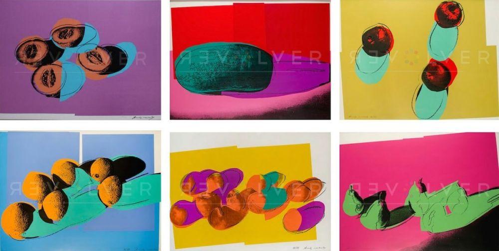 Siebdruck Warhol - Space Fruit: Still Lifes, Complete Portfolio (FS II.198-203)