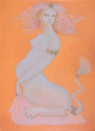 Lithographie Fini - Sphinx Ileria