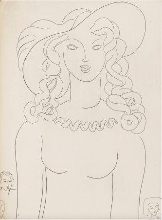 Illustriertes Buch Matisse - Stéphane Mallarmé : POÉSIES. Albert Skira 1932.