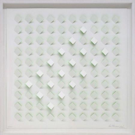 Lithographie Tomasello - S/T 4 - Verde
