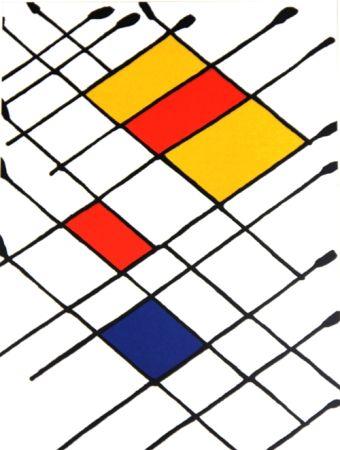 Lithographie Calder - Stabiles