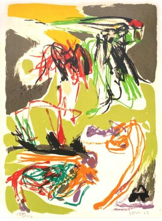 Lithographie Jorn - Stabisme Pastoral