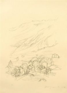 Lithographie Giacometti - Stampa