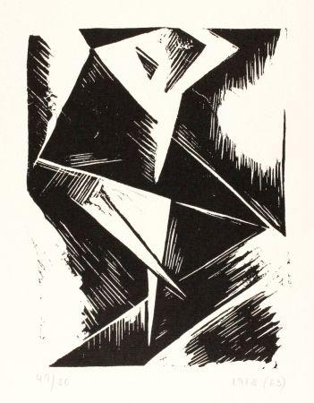 Linolschnitt Kubicki - Stanislaw Kubicki 1889 - 1942