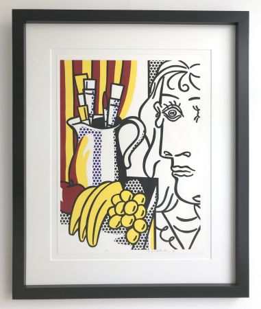 Siebdruck Lichtenstein - Still life with Picasso