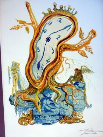 Lithographie Dali - Stillness Of Time