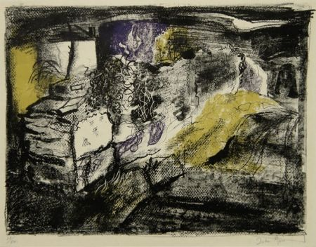Lithographie Piper - Stone Wall - Anglesea