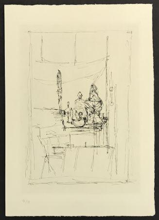 Stich Giacometti - Studio from La Magie Quotidienne