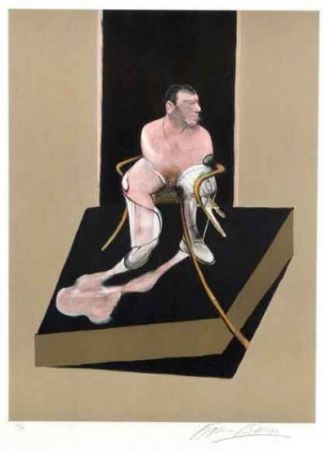 Radierung Und Aquatinta Bacon - Study For Portrait Of John Edwards