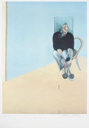 Offset Bacon - Study For Selfportrait, 1984
