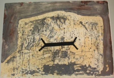 Lithographie Tapies - Suite 63 X 90