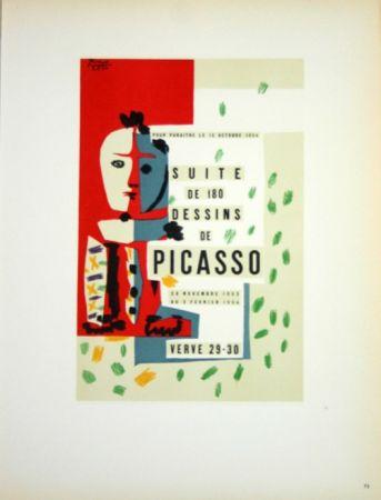 Lithographie Picasso (After) - Suite de 180  Dessins  1954