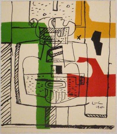 Illustriertes Buch Le Corbusier - Suite de dessins