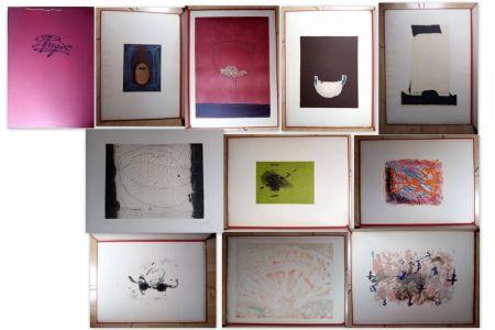 Lithographie Tàpies - Suite Fregolí
