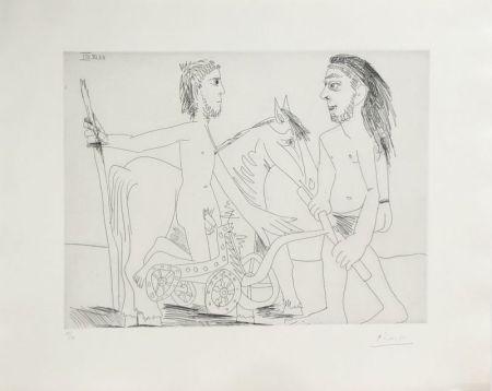 Radierung Picasso - Suite
