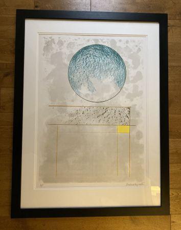 Siebdruck Hepworth - Sun Setting