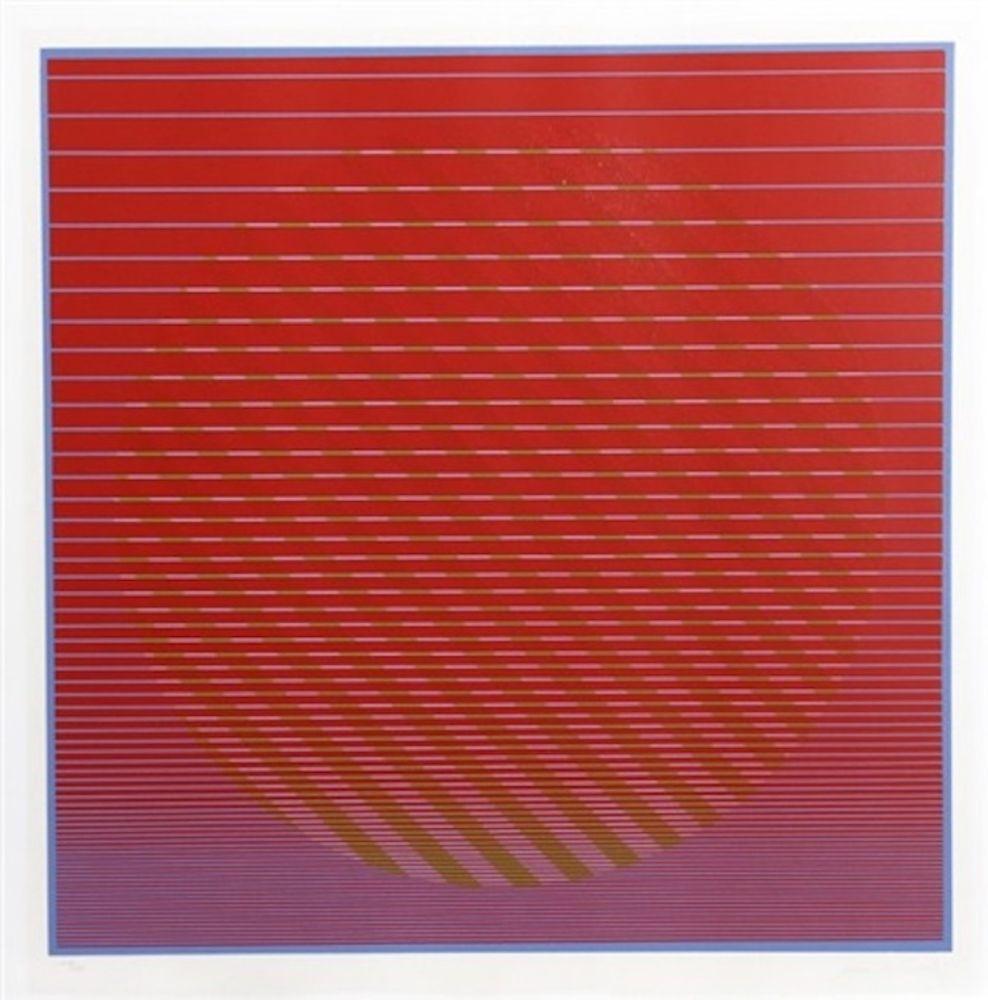 Siebdruck Stanczak - Sunset from Eight Variants