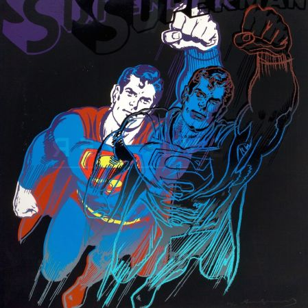Siebdruck Warhol - Superman (FS II.260)