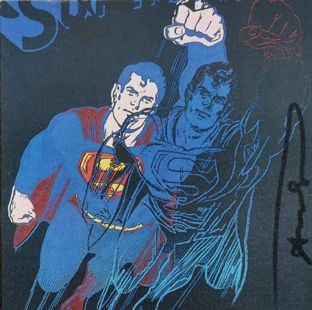 Siebdruck Warhol - Superman