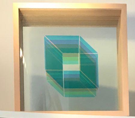 Siebdruck Bury - Superpositions