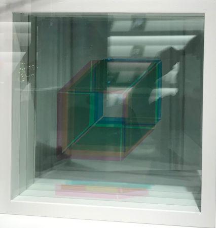 Siebdruck Bury - Superpositions (sur commande, montage en blanc)