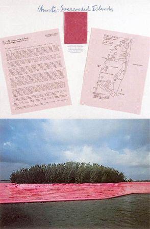 Fotografie Christo - Surrounded Islands IV