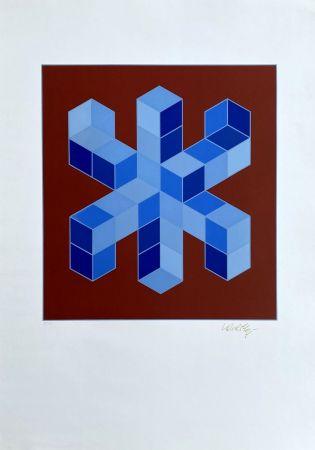 Siebdruck Vasarely - Sylla-6