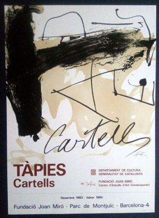 Plakat Tàpies - TÀPIES CARTELLS - FUNDACIÓ MIRÓ 1983