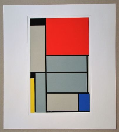Siebdruck Mondrian - Tableau I. - 1921